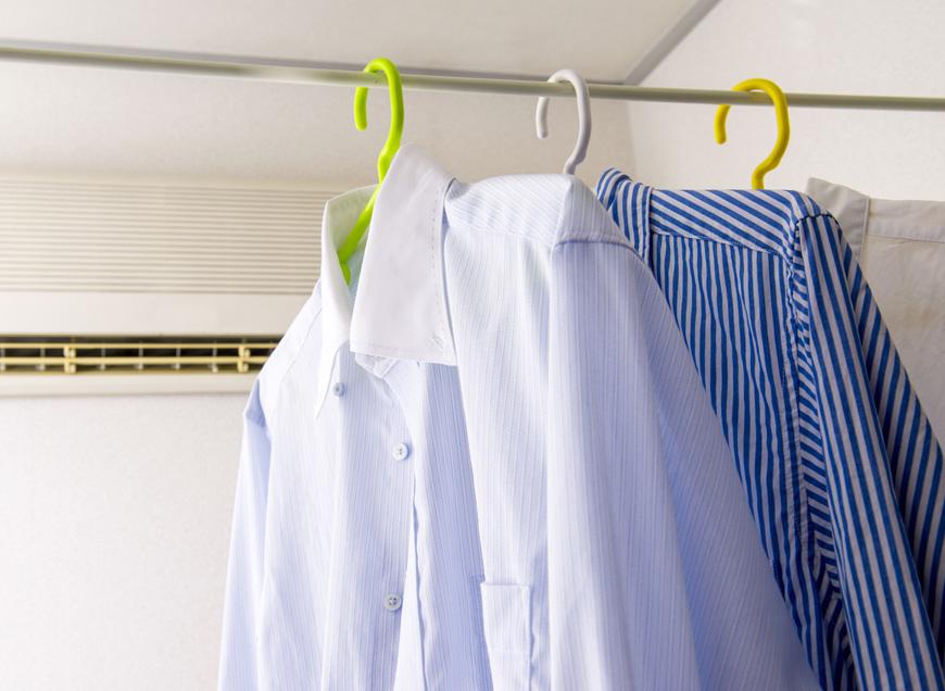 洗濯物の部屋干し対策